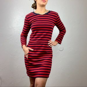 """Gap shift striped dress """"designed & crafted"""" XS"""